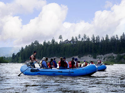 Photograph - Rafting On The Snake by Brenda Kean