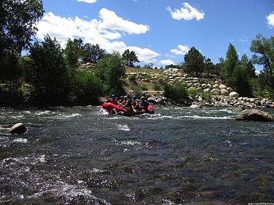 Bi-cycle Photograph - Rafting The River by Steven Parker