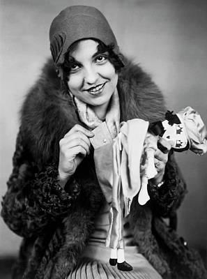 Rag Doll Photograph - Rag Doll Purse by Underwood Archives