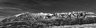 Photograph - Ragged Mountain Colorado by Eric Rundle