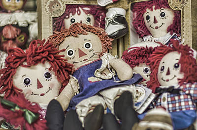 Rag Doll Photograph - Raggedy Ann And Andy by Heather Applegate