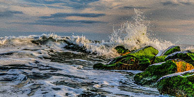 Photograph - Raging Tides by David Hahn