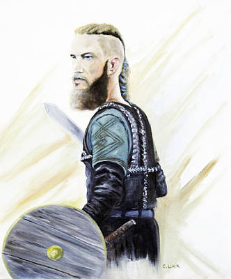 Painting - Ragnar by Catherine Link
