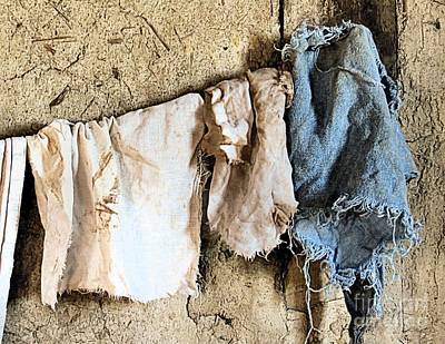 Photograph - Rags by Janice Drew