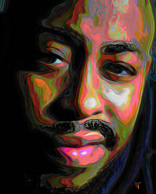 Raheem Devaughn Original by  Fli Art