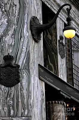 Photograph - Raiffeisen Bank Light by John Rizzuto