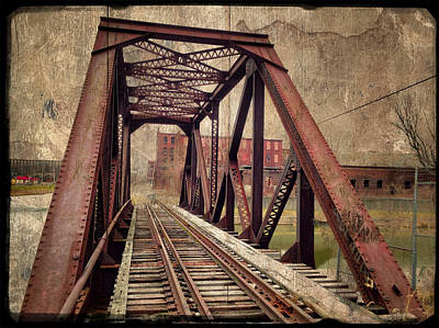 Photograph - Rail Bridge by Fred LeBlanc