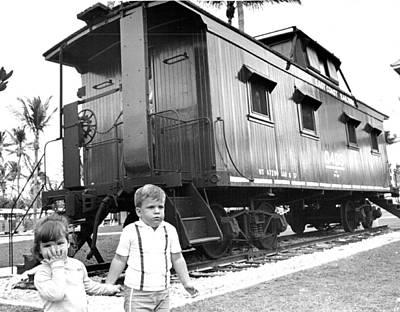 Rail Car Art Print