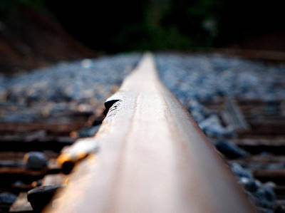 Photograph - Rail Line by Greg Simmons