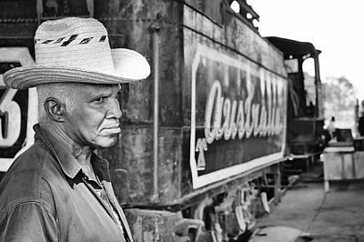 Cuba 3 Photograph - Rail Lurker by Nick Prosper