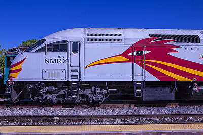 Roadrunner Wall Art - Photograph - Rail Runner Train by Garry Gay