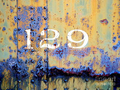Photograph - Rail Rust - Abstract - 129 by Janine Riley
