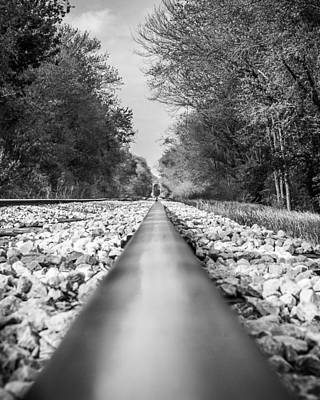 Photograph - Rail Way by Jeff Mize