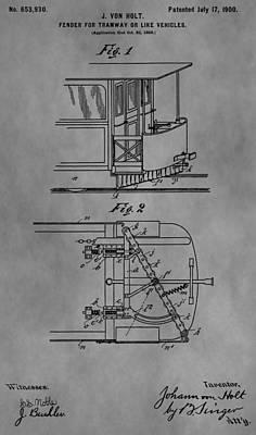 Railcar Fender Print by Dan Sproul
