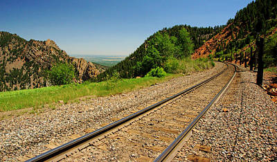 Photograph - Railroad Above It All by Daniel Woodrum
