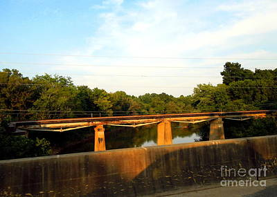 Photograph - Railroad Bridge by Renee Trenholm