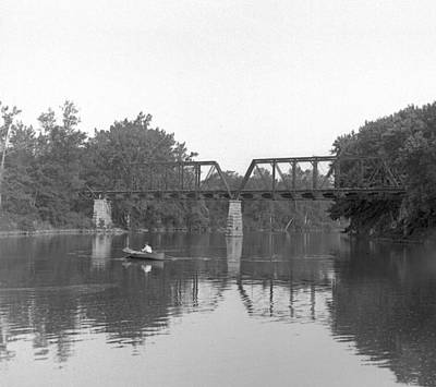 Photograph - Railroad Bridge by William Haggart
