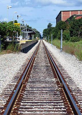 Photograph - Railroad Depot by Janice Drew