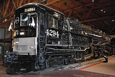 Photograph - Southern Pacific Cab Forward Railroad Engine No 4294 by Michele Myers