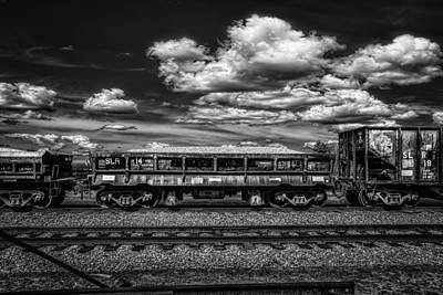 Photograph - Railroad Gravel Car by Bob Orsillo