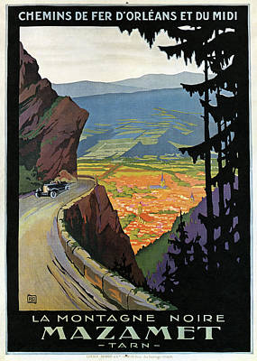 Painting - Railroad Poster, C1920 by Granger