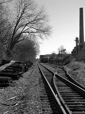 Railroad Siding Art Print by Greg Simmons