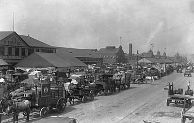 Photograph - Railroad Strike, 1916 by Granger