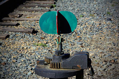 Photograph - Railroad Switch by Tikvah's Hope