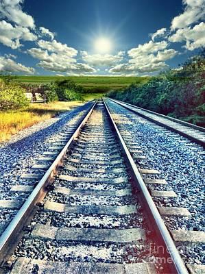 Photograph - Railroad To Heaven by Carlos Avila