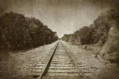 Photograph - Railroad To No Where by Charles Beeler
