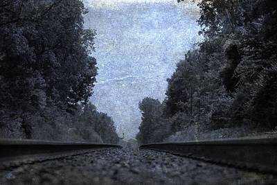 The Great Escape Photograph - Railroad Tracks by Dan Sproul