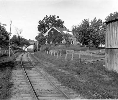 Photograph - Railroad Tracks by William Haggart