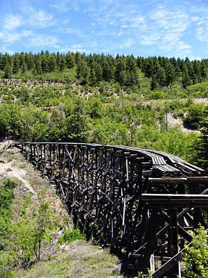 Railroads Photograph - Railroad Trestle At Cloudcroft New Mexico by Kurt Van Wagner