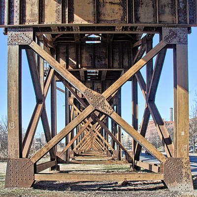Photograph - Railroad Trestle by Jemmy Archer