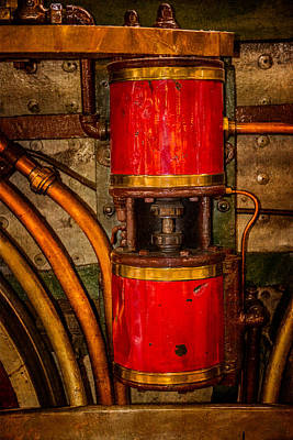Duluth Photograph - Railroad Valve by Paul Freidlund
