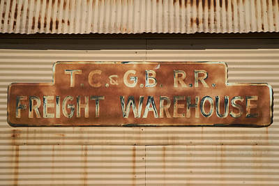 Photograph - Railroad Warehouse by Robert Bascelli