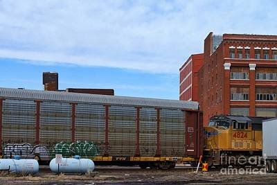 Photograph - Railroad - West Bottoms by Liane Wright