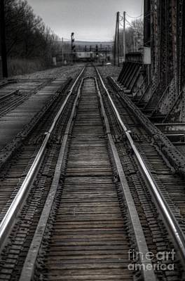 Photograph - Rails by Jim Lepard