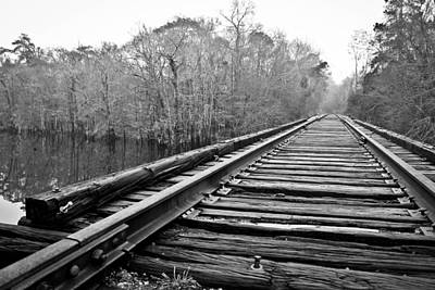 Photograph - Rails Over Water by Jessica Brown