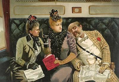 Railway Advert Travel Humour, 1890s Art Print by British Library