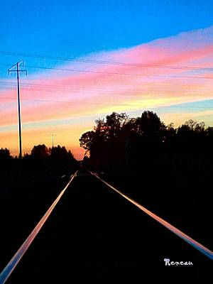 Photograph - Railway Beauty by Sadie Reneau