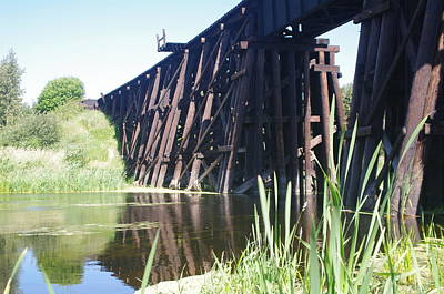Photograph - Railway Bridge 2 by Sheila Byers