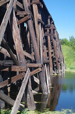 Photograph - Railway Bridge 3 by Sheila Byers