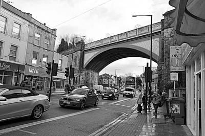 Railway Bridge Art Print by Bishopston Fine Art