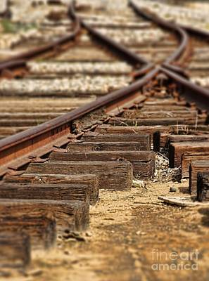 Photograph - Railway by Peggy Hughes