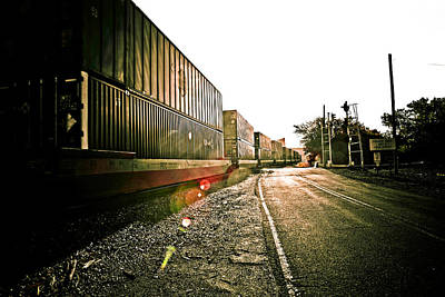 Photograph - Railway by Sennie Pierson