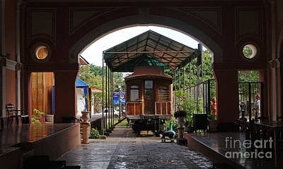 Photograph - railway station in Granada Nicaragua by Rudi Prott