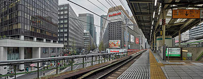 Railroad Stations Photograph - Railway Station, Yurakucho Station by Panoramic Images