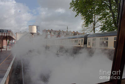 Photograph - Railway Steam by Terri Waters
