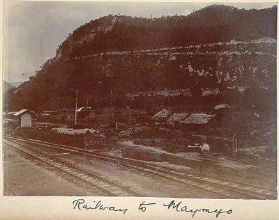 Railway To Maymyo Art Print by British Library